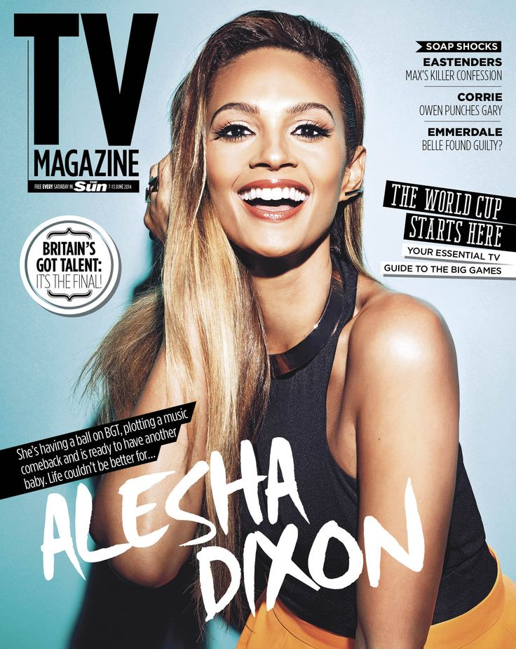 Alesha Dixon by Zoe Mcconnell