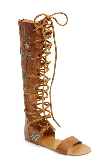 Lace Up Boho Chic Sandals | Nordstrom Half Yearly Sale | Storybook Apothecary