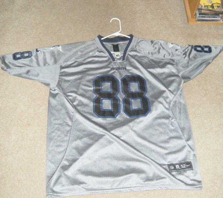 Dallas Cowboys #88 Dez Bryant Grey Men's Stitched Nike NFL Elite Jersey Used 2XL #Nike #DallasCowboys