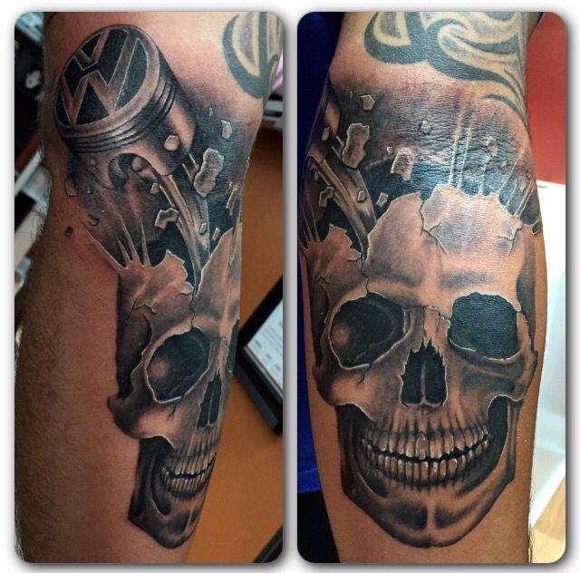 skull piston tattoo by audrey mello my art pinterest piston tattoo and tattoo. Black Bedroom Furniture Sets. Home Design Ideas