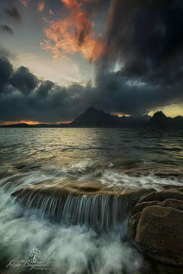The view from Elgol beach on Skye. Photo by David Brightwell, nominated in the  www.skye-photo-challenge.com