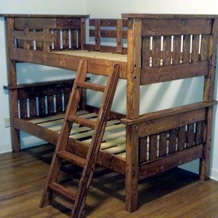 mid south bunk beds custom woodworking and makers of natural wood beds benutzerdefinierte etagenbettendoppelstockbettenhausgemachte - Einfache Hausgemachte Etagenbetten