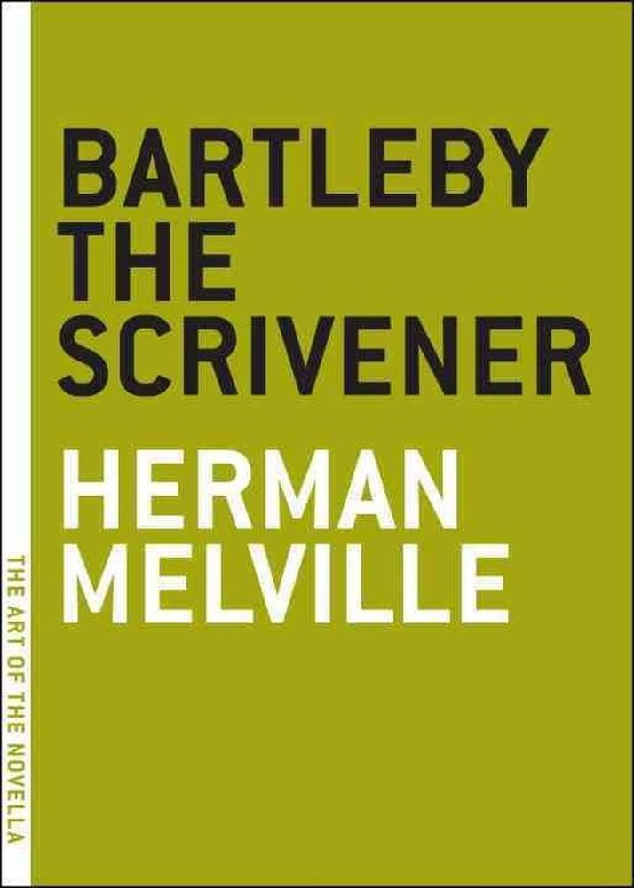 an analysis of the novel bartleby the scrivener by herman melville Melville, herman 1853 bartleby, the scrivener  bartleby, the scrivener 1853 bartleby, the scrivener: a story of wall-street  summary disposition had led him.
