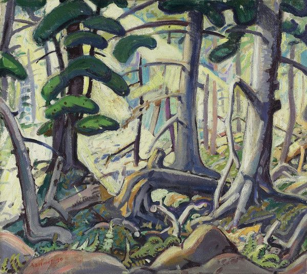 Sunlight in a Wood by Arthur Lismer from Art Gallery of Ontario