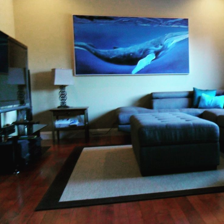 Thank you to Richard & Veronica for sending us this photo of their new Whale painting! Looks amazing!! #HappyCustomers