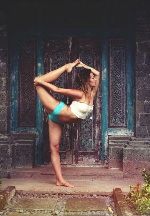 natarajasana variation #yoga