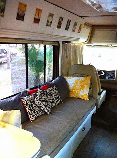 22 best rv makeover images on pinterest cars camper makeover and camping outdoors. Black Bedroom Furniture Sets. Home Design Ideas