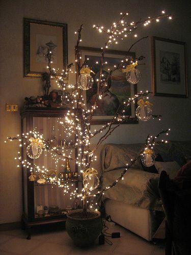 Oltre 25 idee originali per rami di albero su pinterest - Rami decorativi natalizi ...