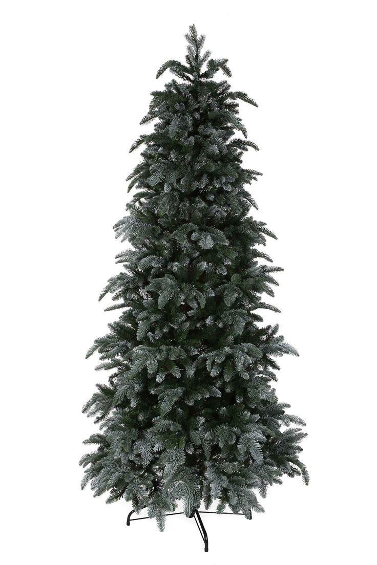 """Triumph tree - smalle kunstkerstboom met sneeuw abies nordmann maat in cm: 230 x 114  De Abies Nordmann van Triumph Tree is de Rolls-Royce onder de kunstkerstbomen. De kerstboom is het topmodel van Triumph Tree en het allerbeste wat er op de huidige markt te vinden is. Hij is extra vol van binnen en heeft """"natural touch"""" takjes langs de buitenkant die met het oog nauwelijks van echt zijn te onderscheiden. Door het verspringen van de takken is hij mooi gelaagd. Hierdoor lijkt hij nog echter…"""