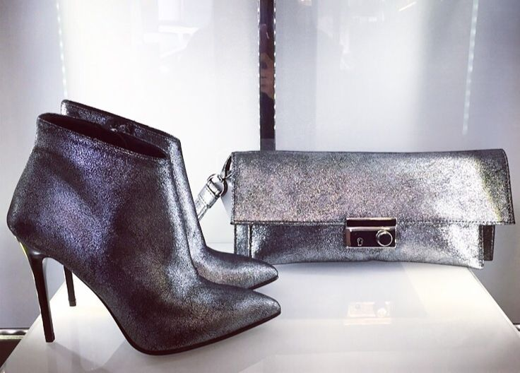 Albano silver boots and bags in limited edition! This model is available only to our Albano's store!!