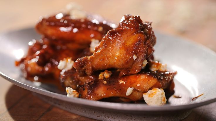 Chicken wings as featured at meat in islamorada fl as