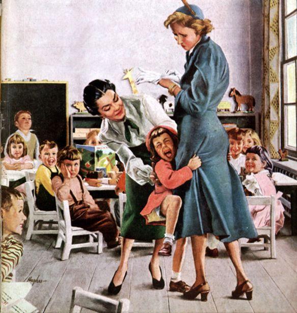 De eerste schooldagen