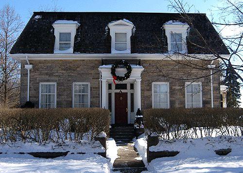 56 best images about mansard roof on pinterest home for Mansard roof house plans