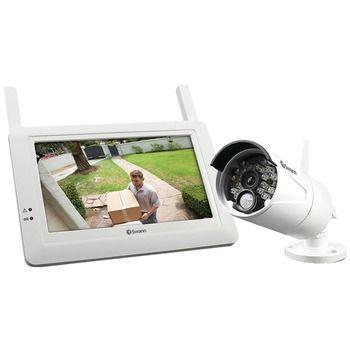 "SWANN SWADW-410KIT-US 7"""""""" LCD Touchscreen Monitor & Wireless Bullet Camera"