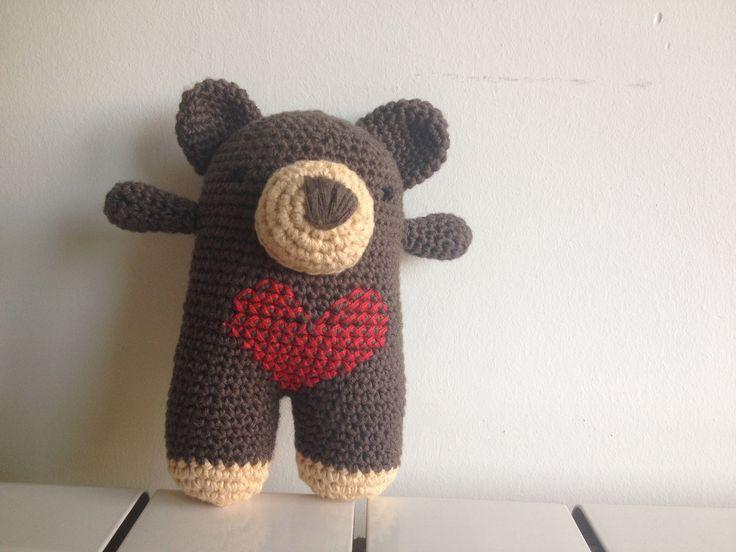 oso amoroso con patrón oso donato de lanukas