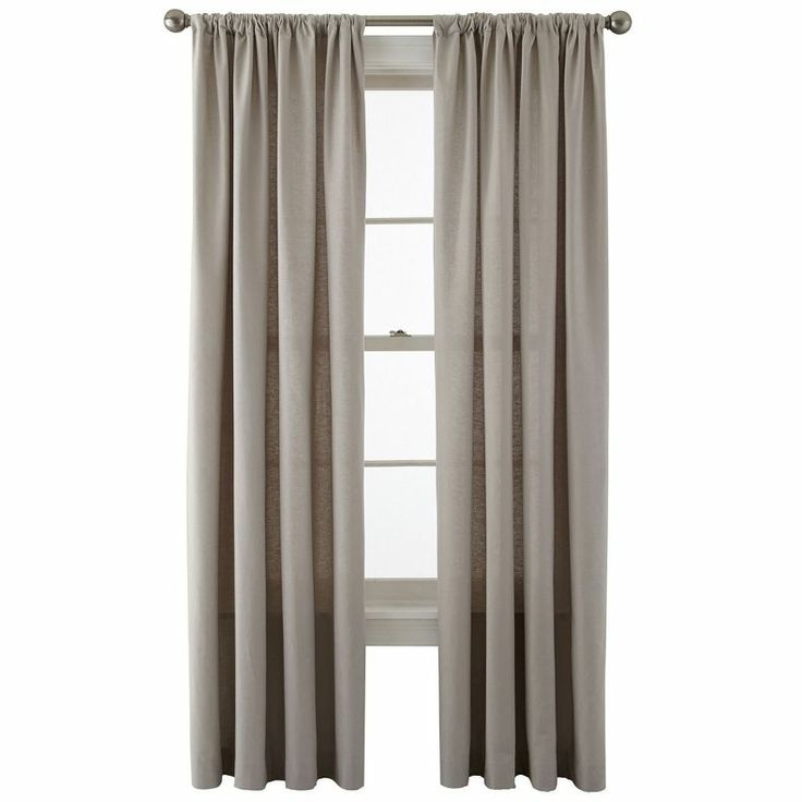 Jcpenney Jcpenney Home Holden Rod Pocket Cotton Curtain Panel Jcpenney Home Design