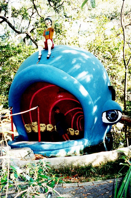 Storyland.........New Orleans, Louisiana  Pinocchio and the whale.