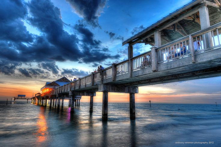 Pier 60, Clearwater, Florida - went there on our honeymoon, but love this pic!