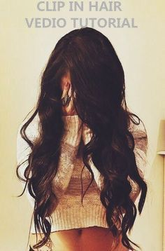 clip in hair vedio tutorial-Every girl must have dream to own a long and soft hair.May this is the first time that you wear the clip in hair, do not worry,our #Besthairbuy clip in hair vedio tutorial will help you install it step by step.