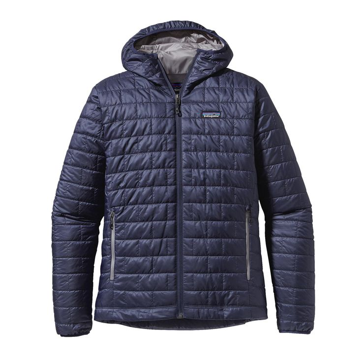 Patagonia Men's Nano Puff® Hoody - Windproof and water-resistant, the full-zip Nano Puff® Hoody is made with warm, incredibly lightweight, highly compressible 60-g PrimaLoft® ONE insulation, and is ideal as an insulating layer or outerwear in cold climates.