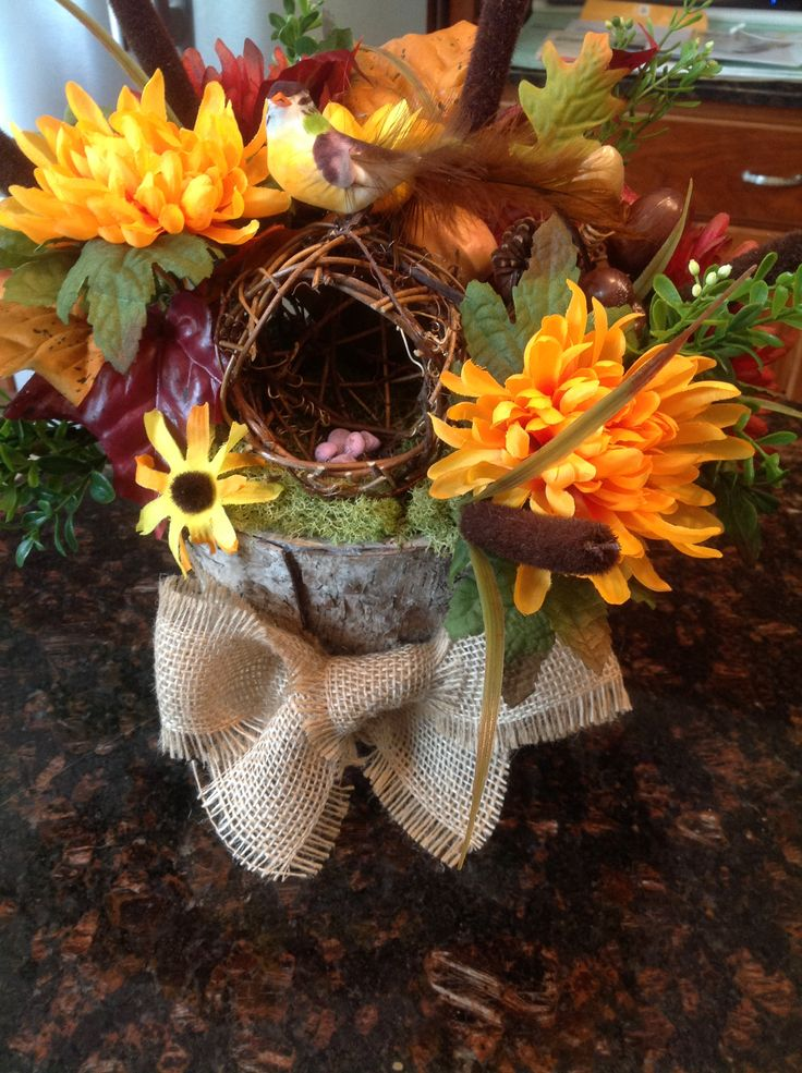 floral centerpiece for woodland themed baby shower baby easy baby shower centerpieces pinterest