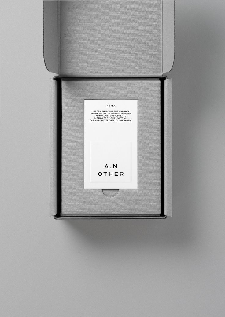 A.N Other by Socio Design, United Kingdom. #branding #design #packaging