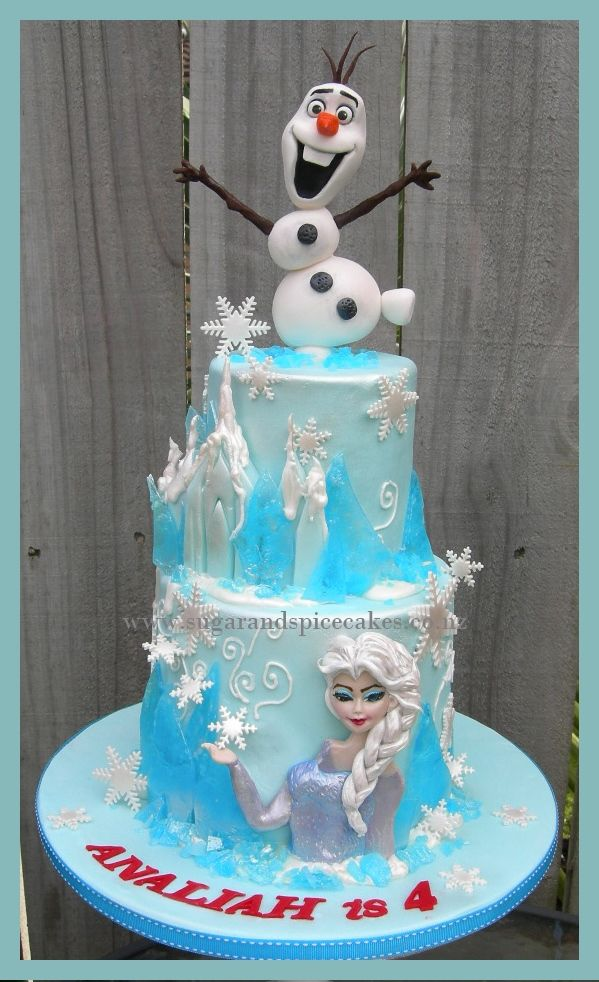 Disney S Frozen Cake Designer Cakes Cupcakes And Sugarcraft By Mel Sugarmama Http