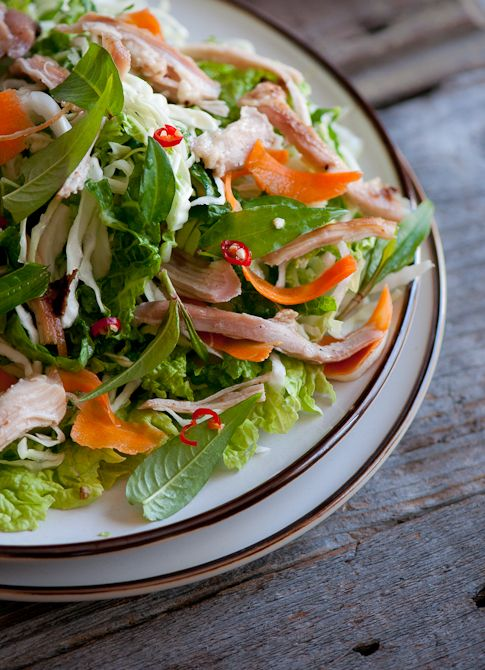 vietnamese chicken salad ..why do I love food so much? This salad is refreshing and delicious!!