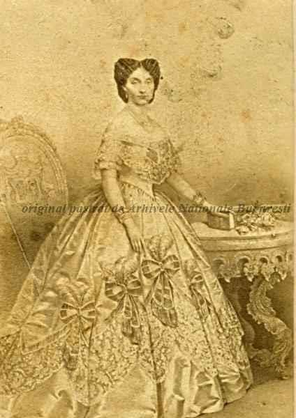 BU-F-01073-1-00964 Elena Cuza (n. 17 iunie 1825; d. 2 aprilie 1909), cunoscută şi ca Elena Doamna, a fost soţia domnitorului Alexandru Ioan Cuza, s. d. (sine dato) (niv.Document)