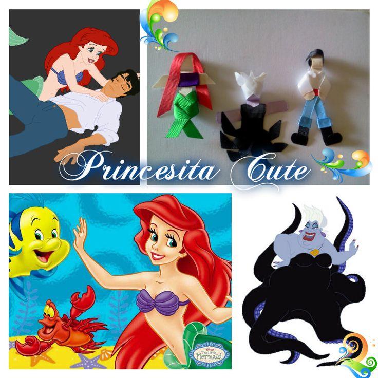 La Sirenita, Ursula y Príncipe Eric