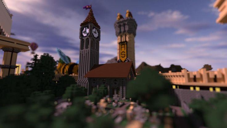 minecraft-clock-tower