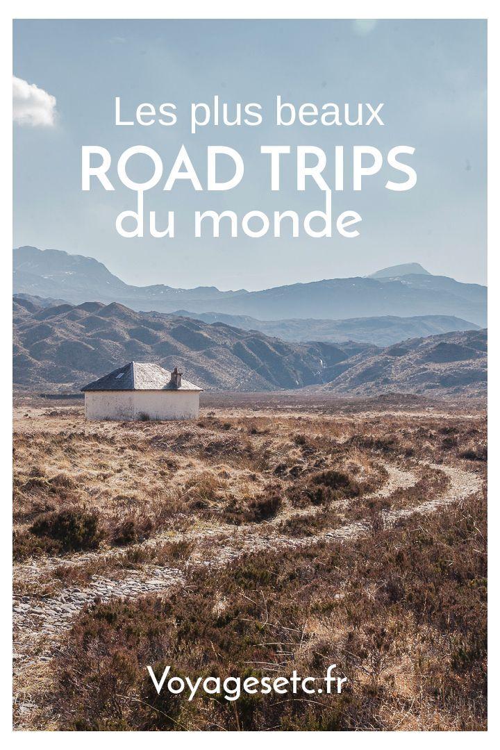Retrouvez mes plus beaux road trips du monde. Ecosse, Italie, Kirghizstan, Australie...  #roadtrip