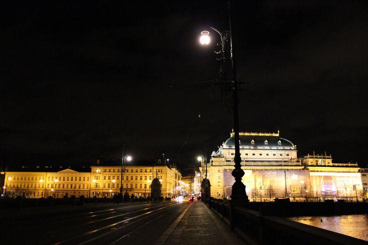 Čechův most ve městě Praha, Hlavní město Praha