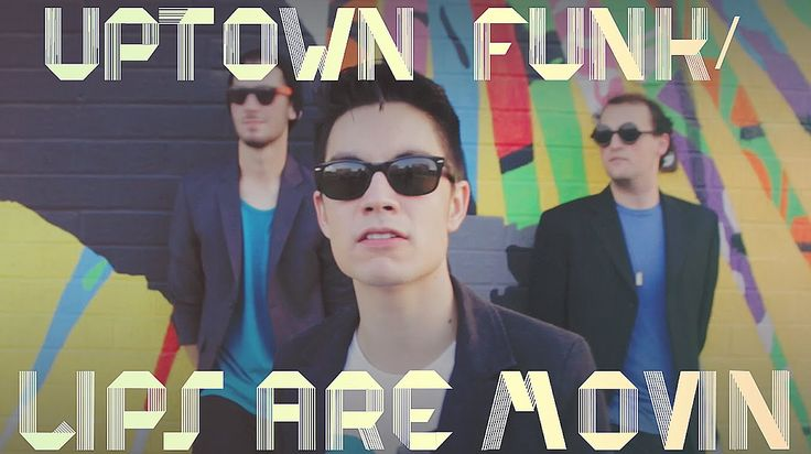 Uptown Funk/Lips Are Movin MASHUP!! (Sam Tsui Cover) - We can always count on Sam for AMAZING mashups. :D