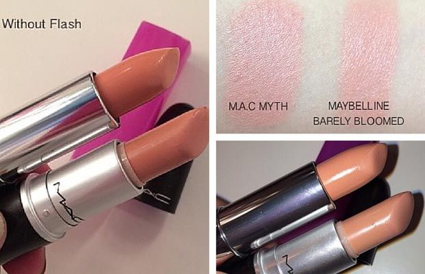 MAC Myth Dupe | Maybelline ColorSensational Rebel Bloom 'Barely Bloomed'