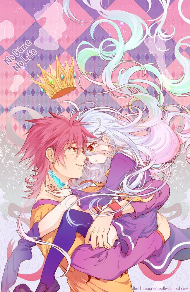 """NOGAMENOLIFE-- THE ANIME TO MAKE YOU THINK: """"...do people like that really exist, and how can I meet them?"""" I MEAN LIKE-- MEMORIZING A LANGUAGE IN 15 MINUTES???!! #dead"""