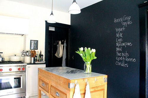 Timeless Kitchen Before & After + Chalkboard wall