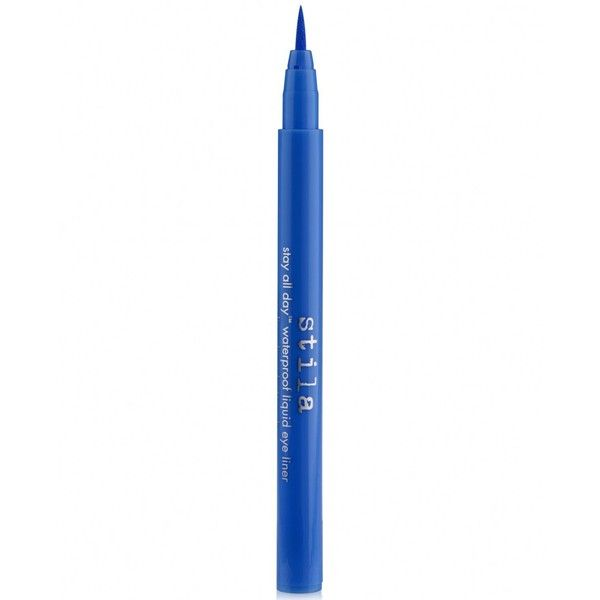 Stila Stay All Day Waterproof Liquid Eye Liner ($20) ❤ liked on Polyvore