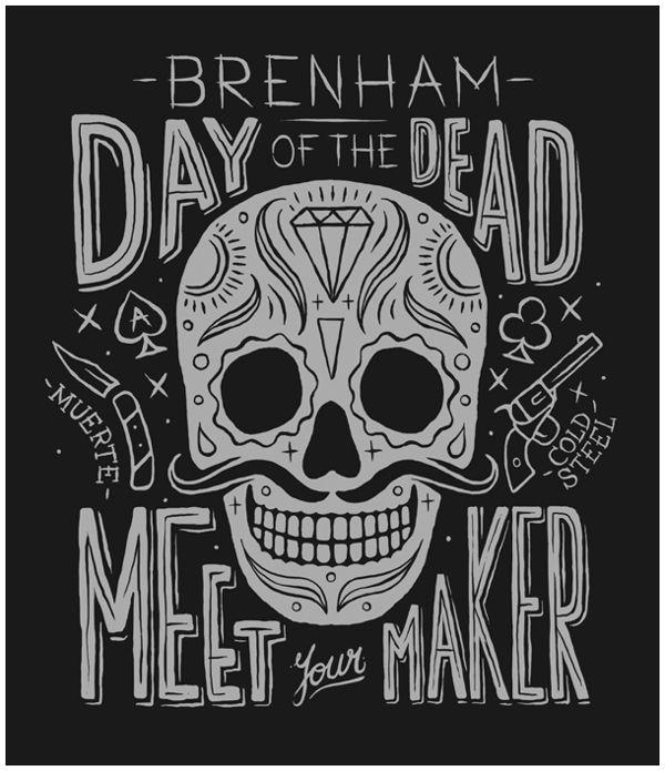 Brenham by MUTI, via Behance #illustration