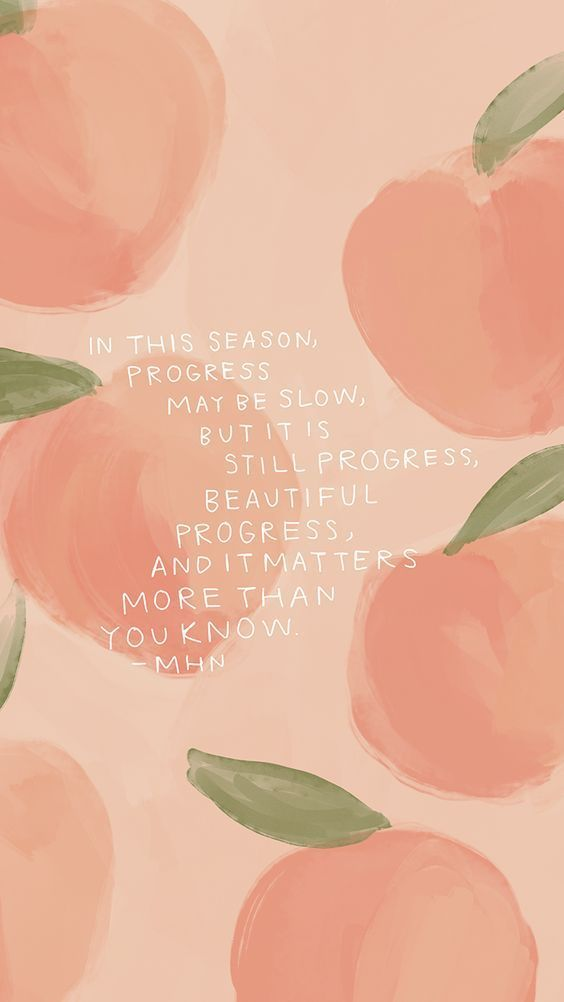 Pinterest (With images) Wallpaper quotes, Peach quote