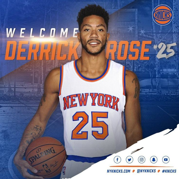 New team, new number  (via New York Knicks)