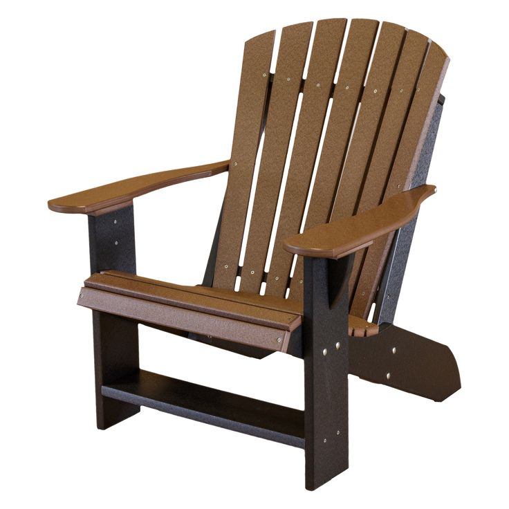 Little Cottage Wildridge Two-Tone Recycled Plastic Adirondack Chair | from hayneedle.com