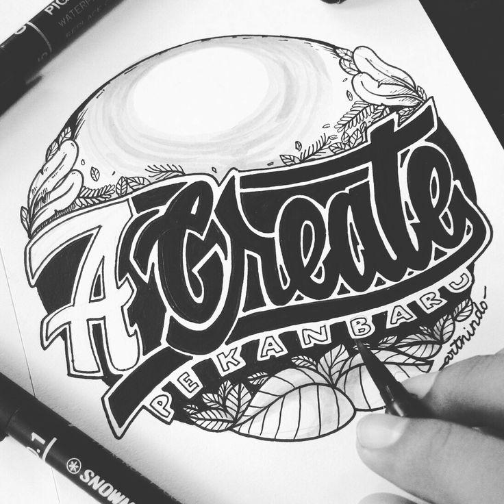 ACreate Pekanbaru #Handlettering #illustration