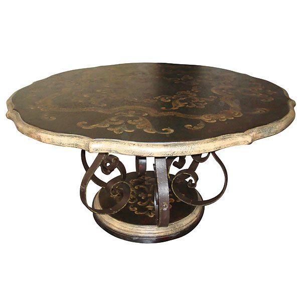Peruvian Mahogany Dining Room Table