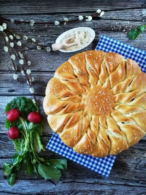 Sajtkrémes napraforgókalács recept