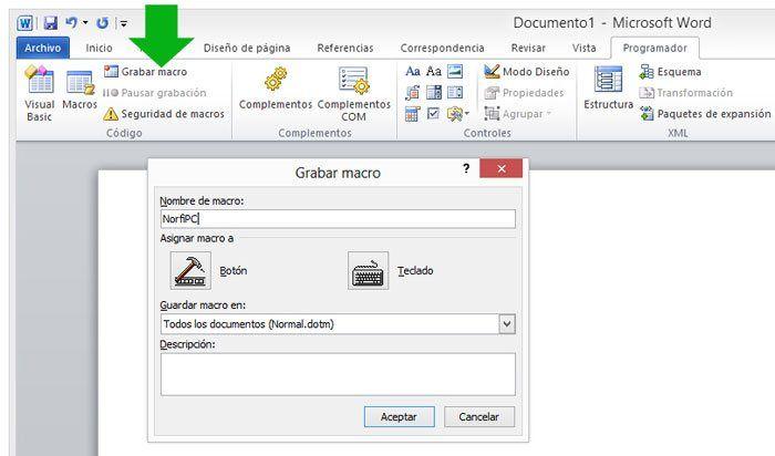Como Crear Y Grabar Macros En Word Y Excel Ejemplos Practicos