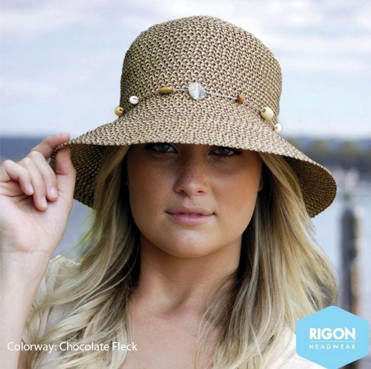 Cancer Council Bohemian Bucket Hat- Chocolate Fleck