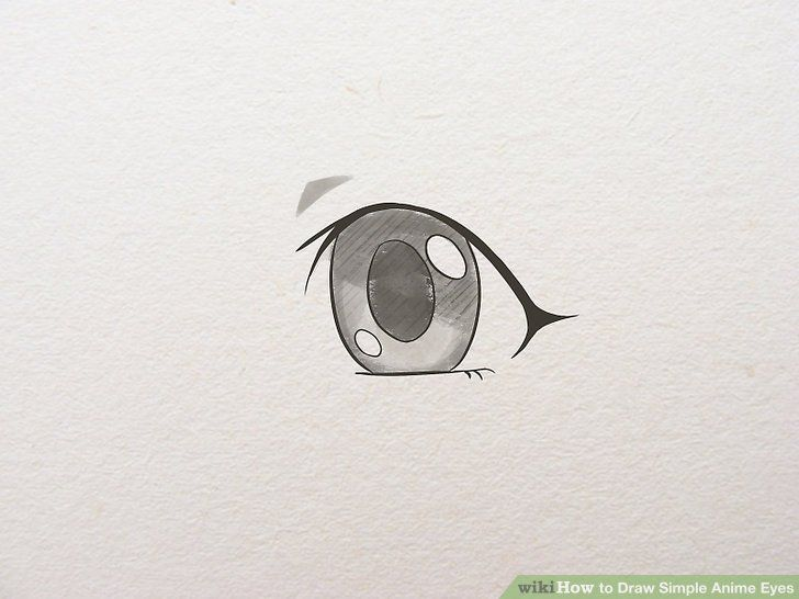 How To Draw Simple Anime Eyes In 2020 Simple Anime Easy Anime Eyes Anime Eyes