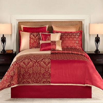 Croft And Barrow 8 Pc El Dorado Reversible Comforter Set