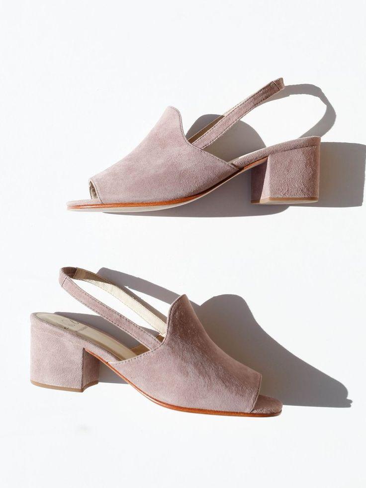 Chaussures Womens En Vente Dans La Sortie, Pivoines, Cuir Suède, 2017, 36 36,5 Prada
